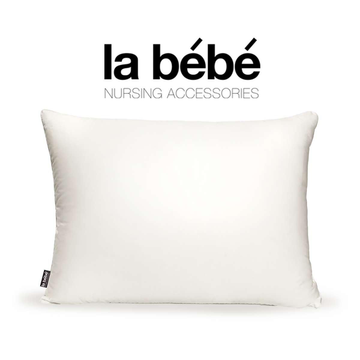La Bebe Nursing Pillow Fjädrar Spilvens ar dūnu, spalvu pildījumu 40x40 cm