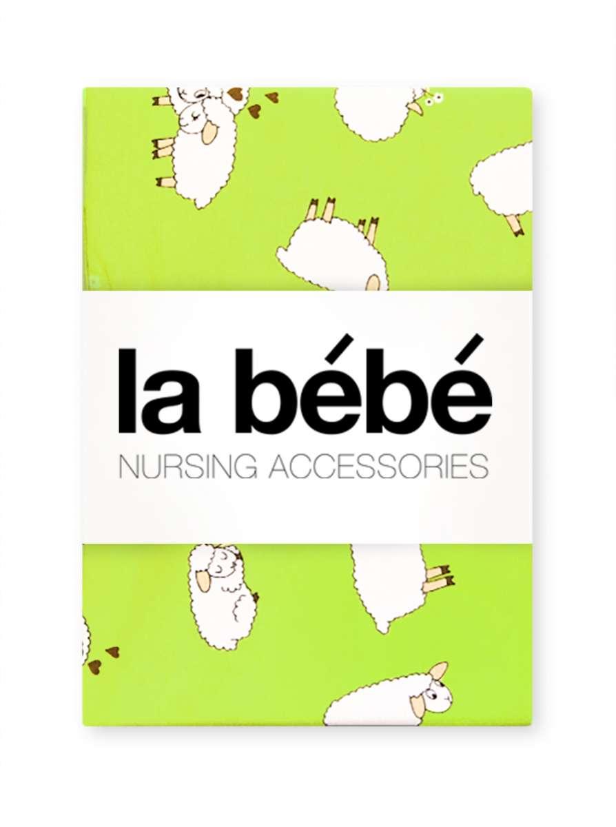 La Bebe Nursing Sheep Bērnu kokvilnas virspalags 75x100 cm