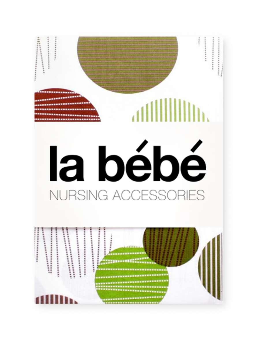 La Bebe Nursing Spring Balls Kokvilnas, Satīna Autiņu komplekts 75x75 cm