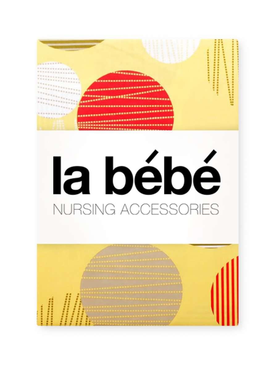 La Bebe Nursing Summer Balls Kokvilnas, Satīna Autiņu komplekts 75x75 cm