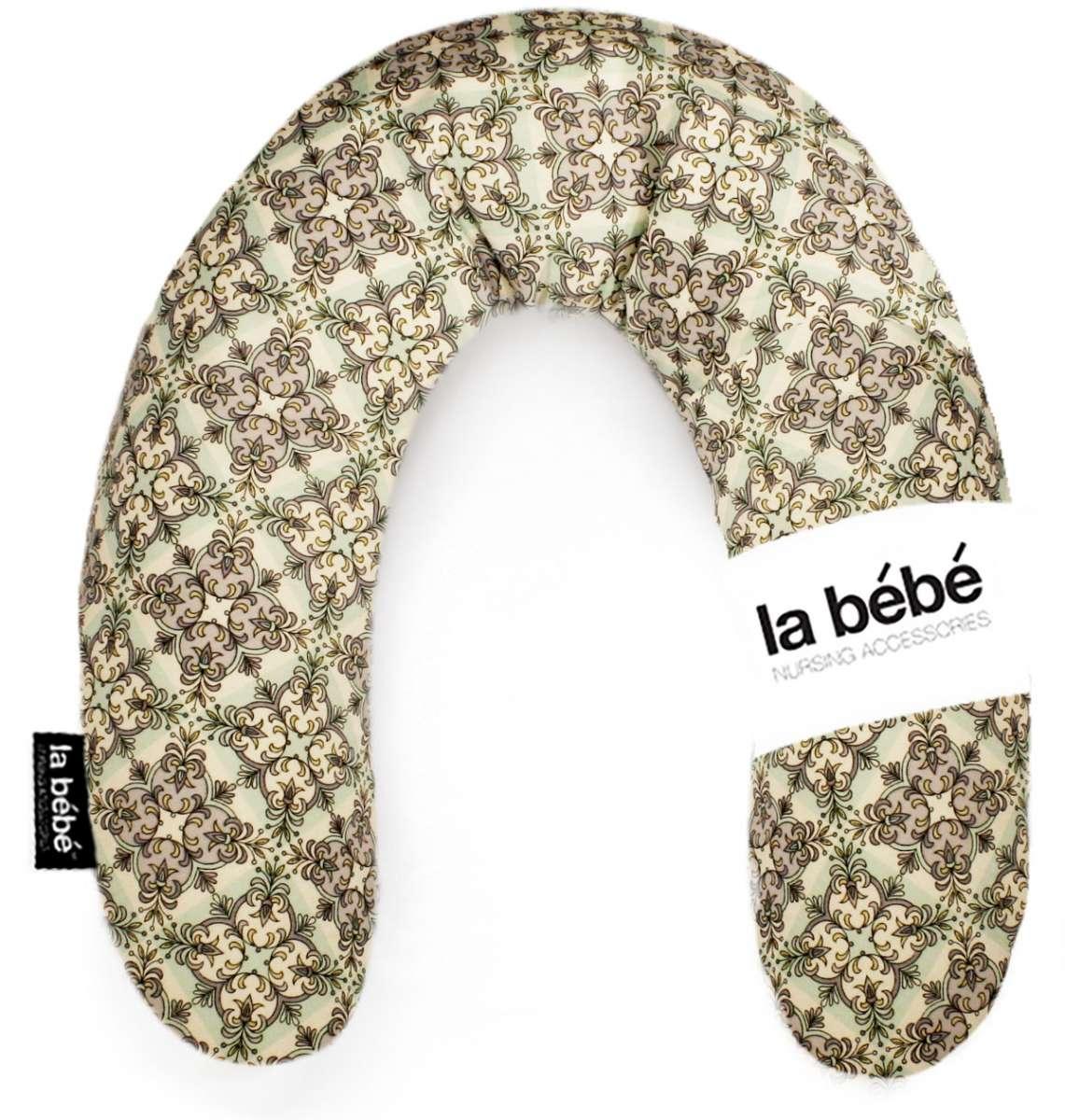 La Bebe Rich Cotton Nursing Maternity Pillow Ornament Pakaviņš pakavs mazuļa barošanai, gulēšanai