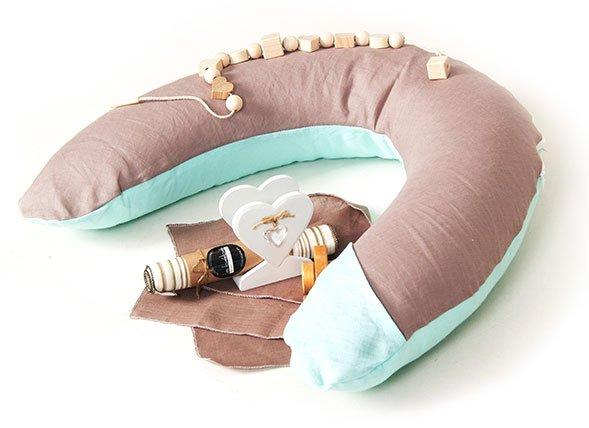 La Bebe Rich Cotton Nursing Maternity Pillow  pakaviņš mazuļa barošanai, gulēšanai, grūtniecēm