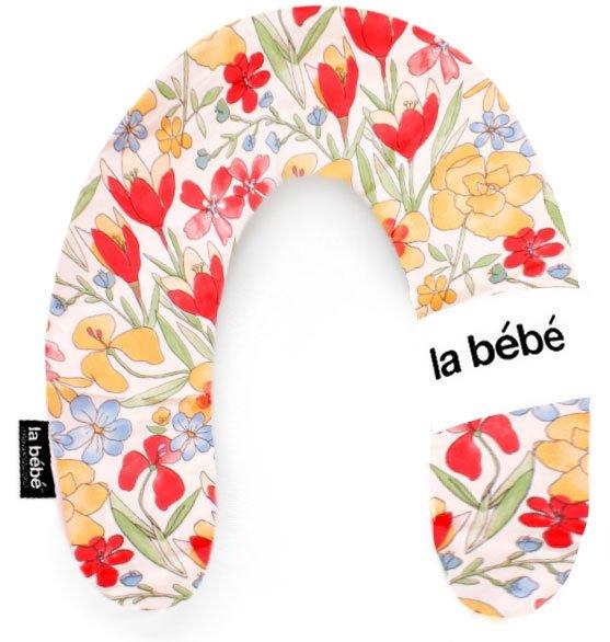 La Bebe Rich Cotton Nursing Maternity Pillow Pakaviņš pakavs mazuļa barošanai, gulēšanai