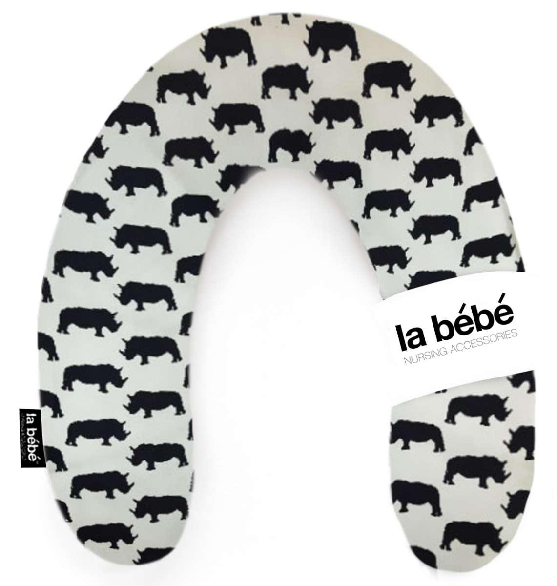 La Bebe Rich Cotton Nursing Maternity Pillow Sarvikuono Pakaviņš pakavs mazuļa barošanai, gulēšanai