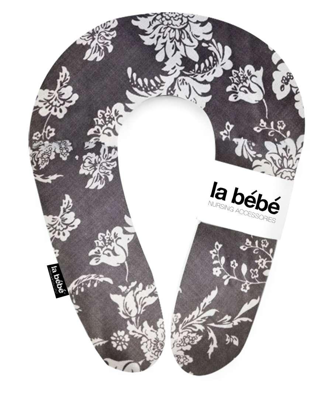 La Bebe Snug Cotton Nursing Maternity Pillow Deco Aqua Pakaviņš pakavs mazuļa barošanai, gulēšanai