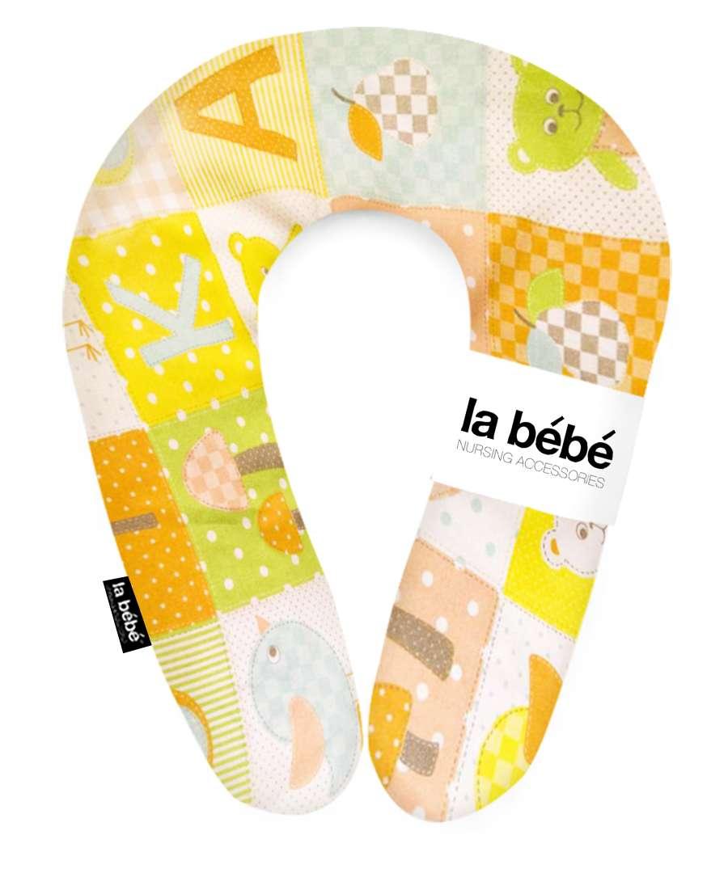 La Bebe Snug Cotton Nursing Maternity Pillow Patchwork 20*70 cm Pakaviņš (pakavs) mazuļa barošanai / gulēšanai
