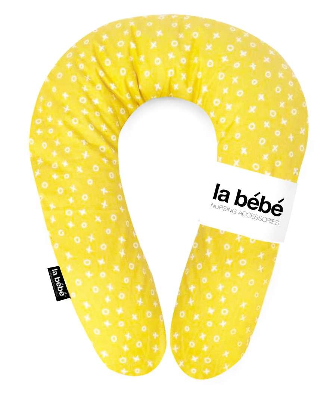 La Bebe Snug Cotton Nursing Maternity Pillow TicTacToe Pakaviņš pakavs mazuļa barošanai, gulēšanai