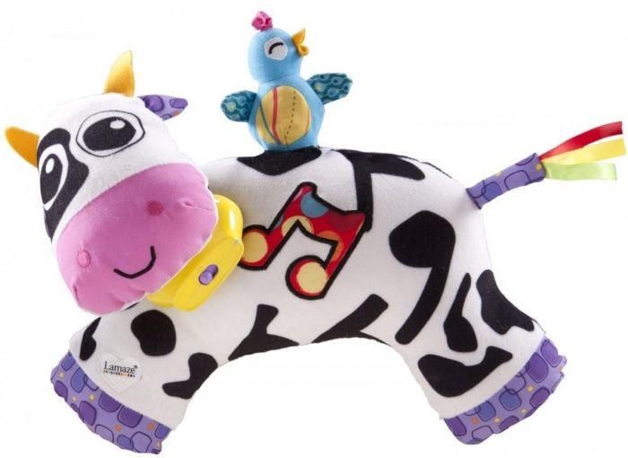 Lamaze Plīša rotaļileta ar skaņu Govs