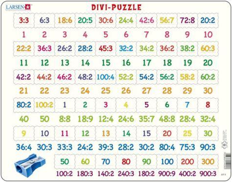 LARSEN - puzle Dalīšanas tabula
