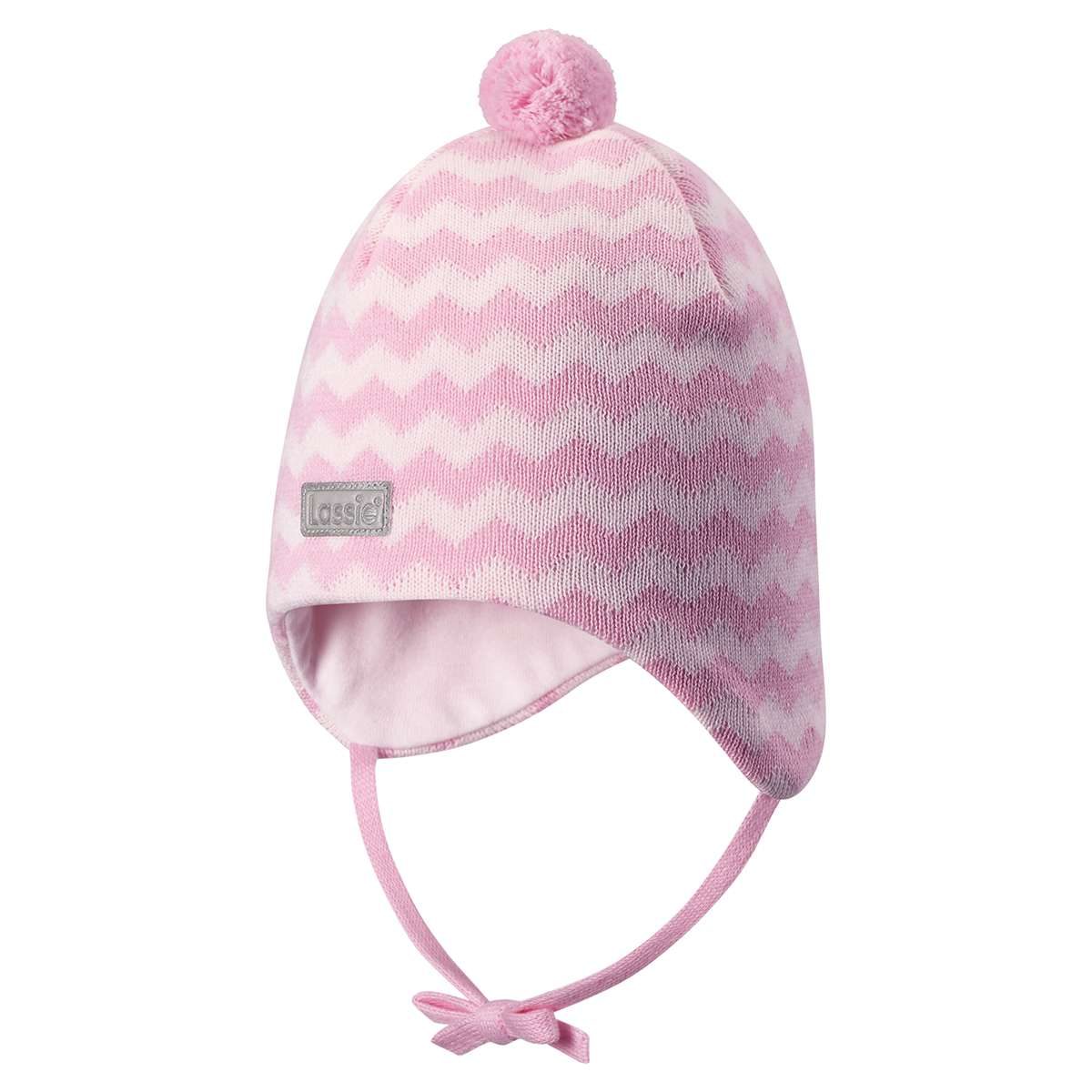 Lassie Baby Pink Bērnu kokvilnas cepure