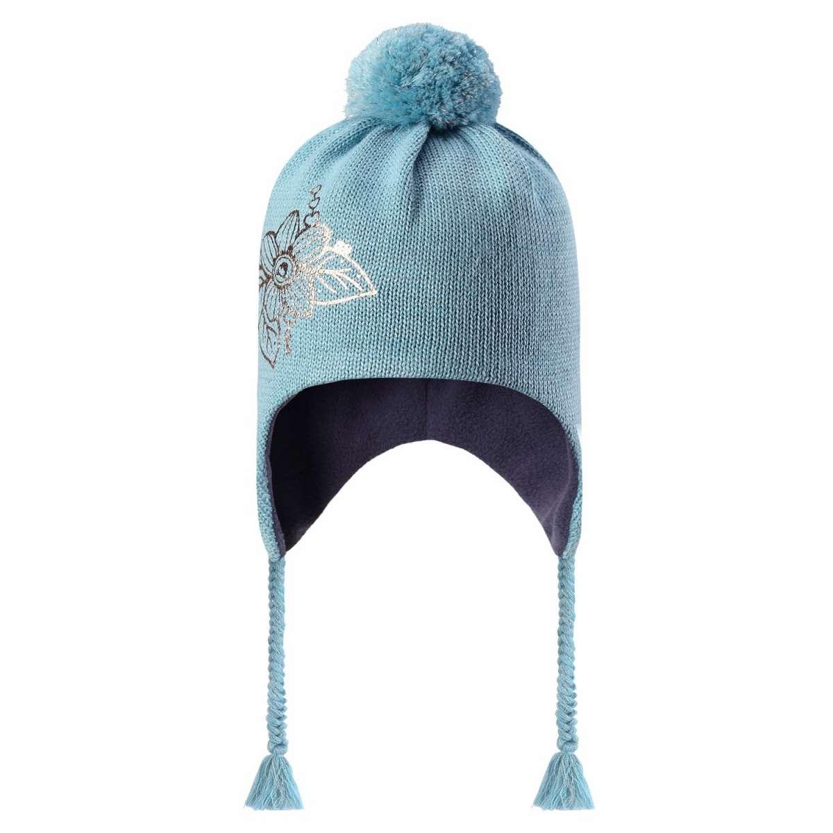 Lassie Blue Bērnu vilnas cepure meitenēm