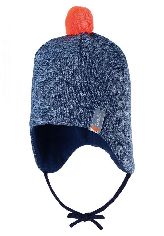 Lassie Dark Blue Bērnu vilnas cepure