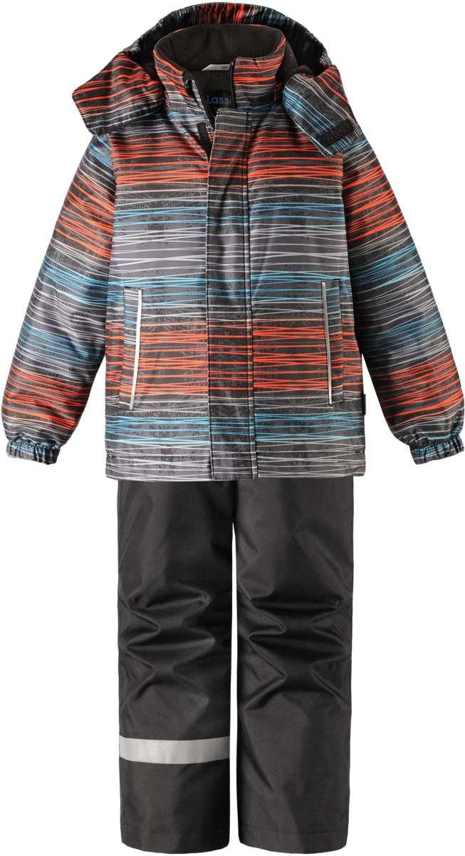 Lassie Lassietec Black Silts mazuļu ziemas kostīms: jaka un bikses