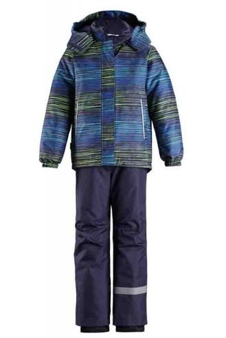 Lassie Lassietec Blue Silts mazuļu ziemas kostīms: jaka un bikses
