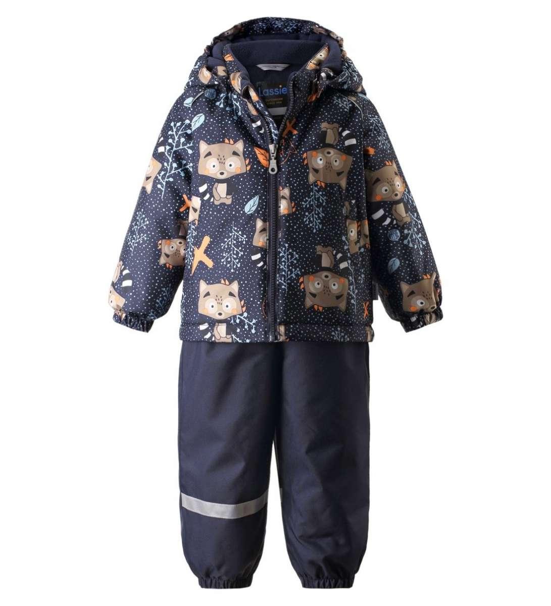 Lassie Lassietec Oivi Silts mazuļu ziemas kostīms: jaka un bikses