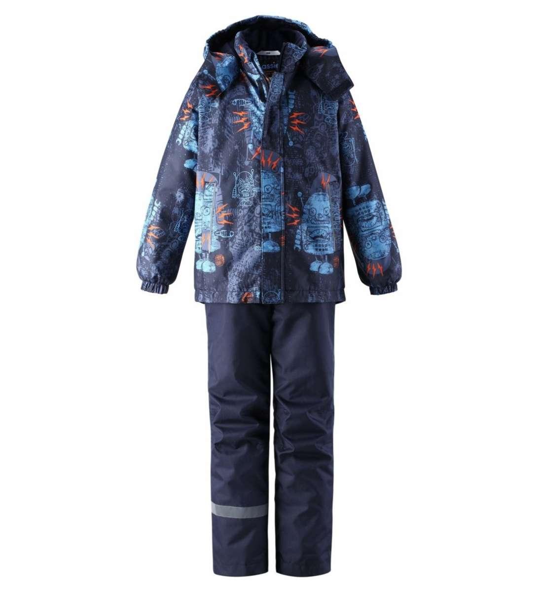 Lassie Lassietec Raiku Silts mazuļu ziemas kostīms: jaka un bikses