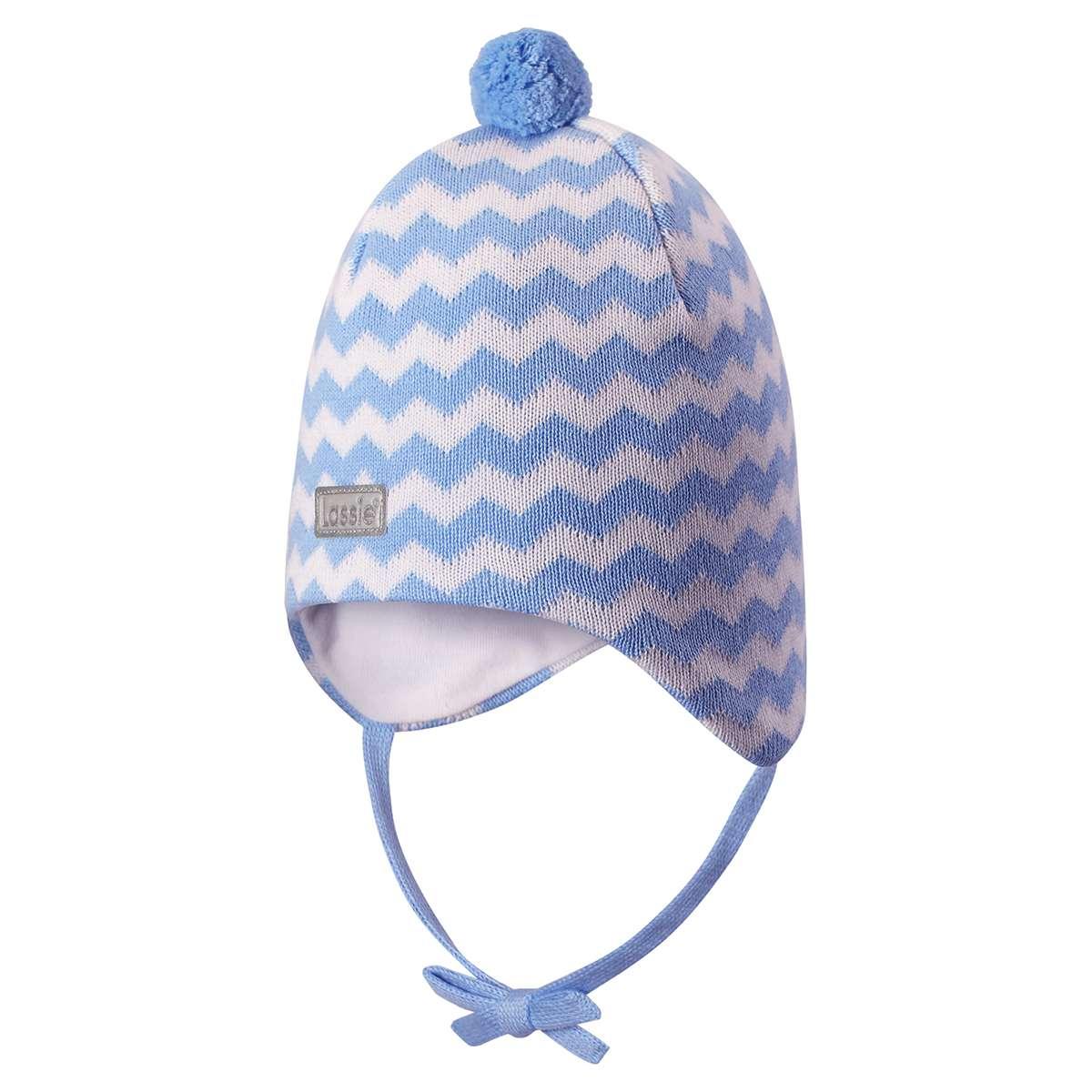 Lassie Light Blue Bērnu kokvilnas cepure