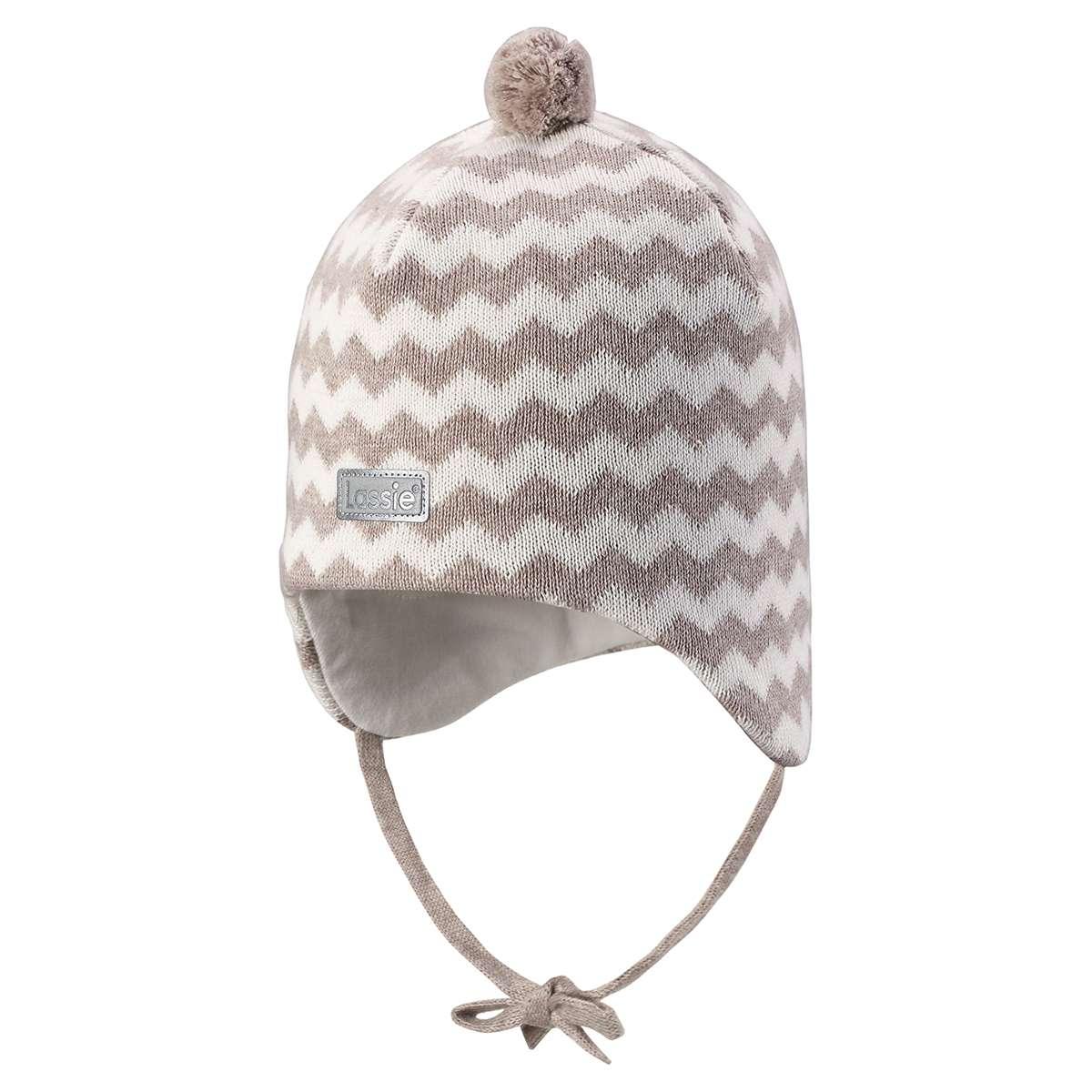 Lassie Melange Brown Bērnu kokvilnas cepure