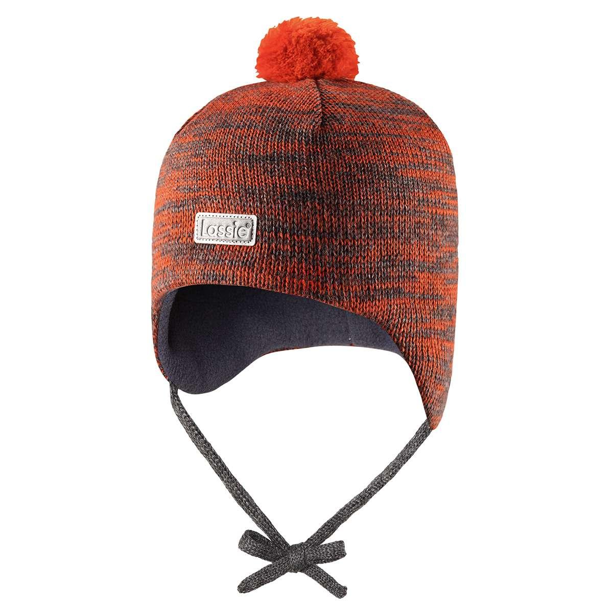 Lassie Orange Bērnu vilnas cepure puikām