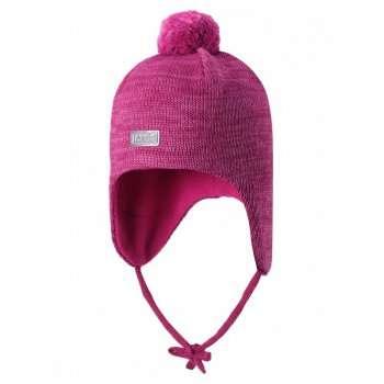 Lassie Pink Bērnu vilnas cepure meitenēm