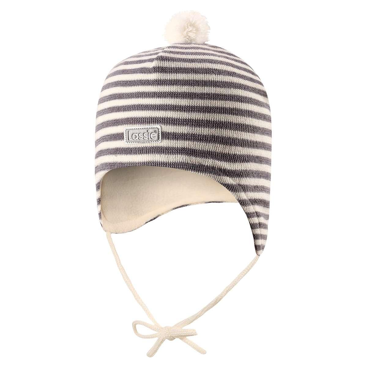 Lassie Warm Grey Bērnu vilnas cepure