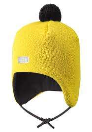 Lassie Yellow Bērnu vilnas cepure