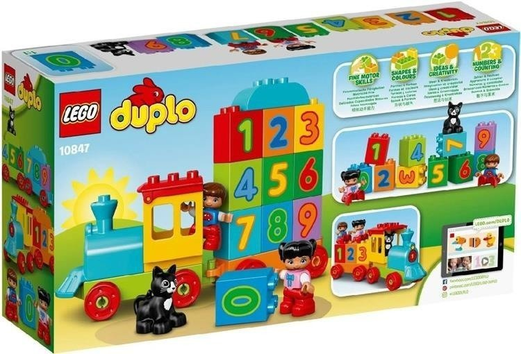 Lego 10847Duplo My First Number Train
