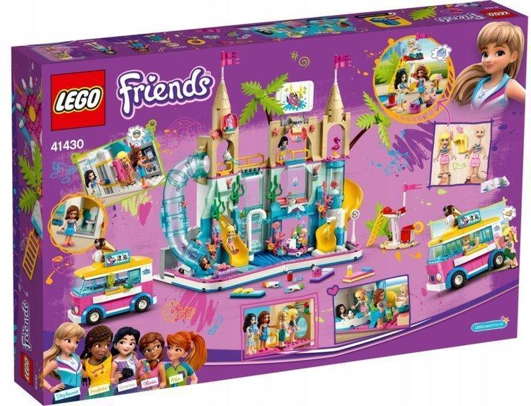 LEGO 41430 Friends Vasaras atrakciju ūdens parks
