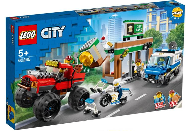 LEGO 60245 City Police Policijas monster truck laupīšana
