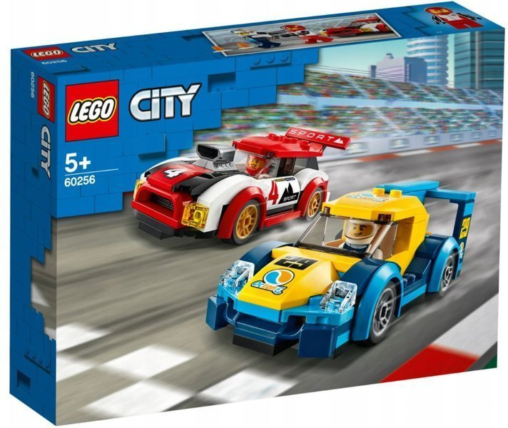 LEGO 60256 City Nitro Wheels Sacīkšu automašīnas