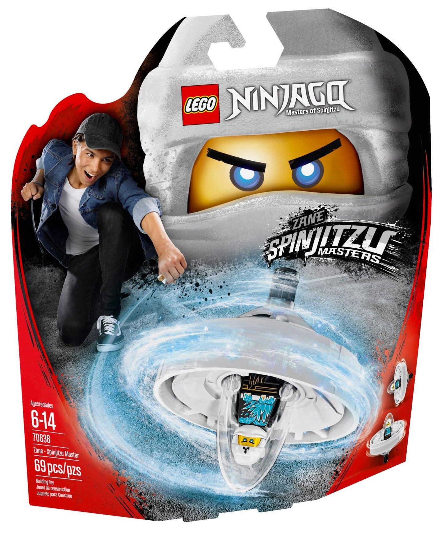 Lego 70636 Zane - Spinjitzu Master Spindžitsu meistars