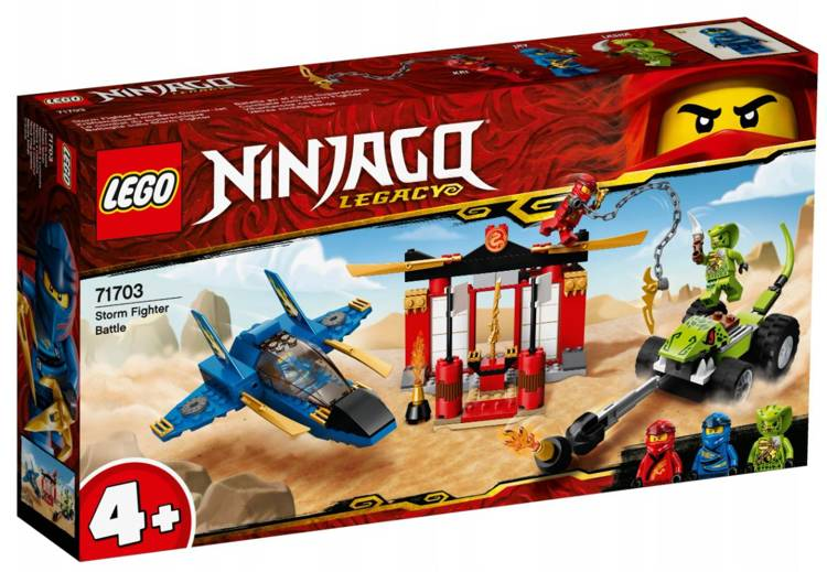 LEGO 71703 NINJAGO Vētras cīnītāja kauja
