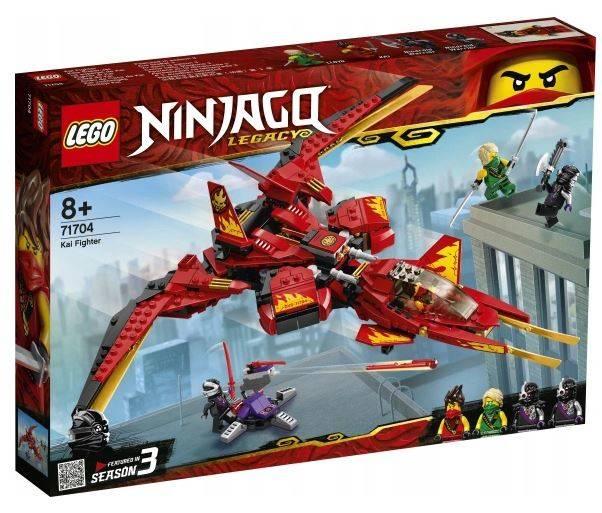 LEGO 71704 NINJAGO Cīnītājs Kai