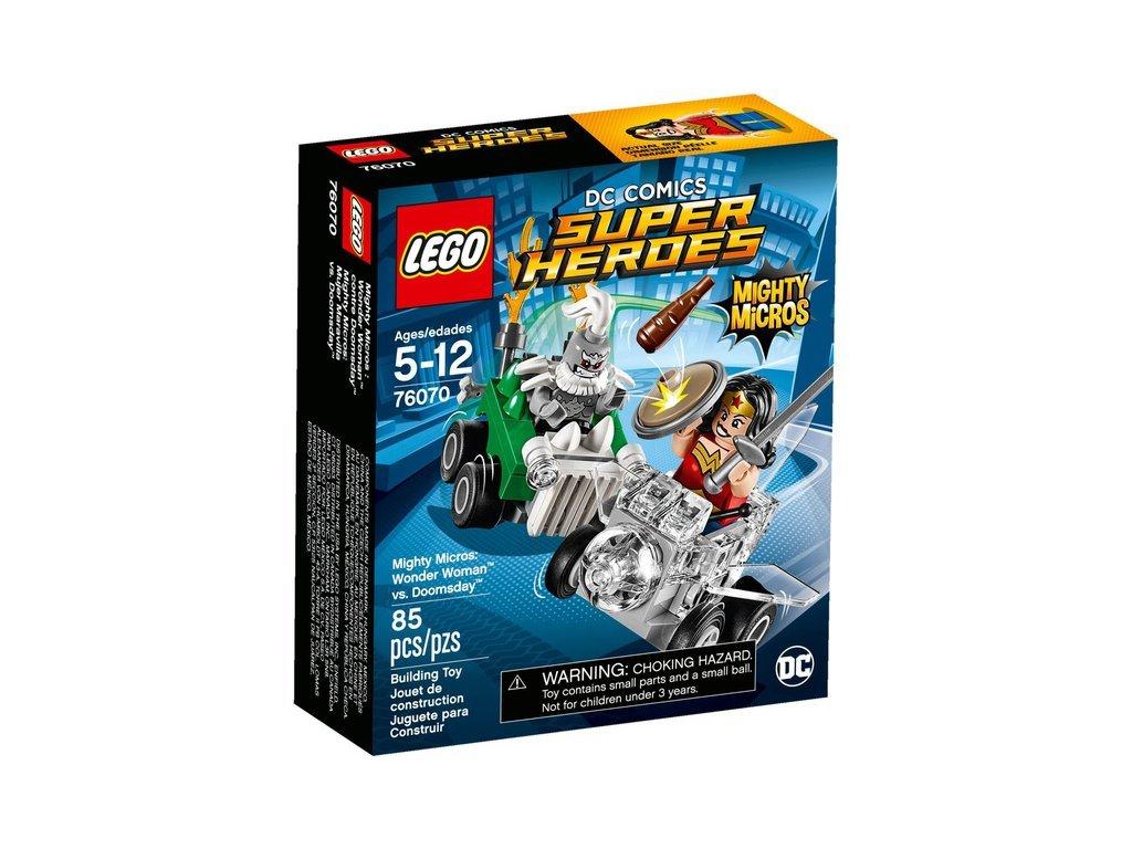 Lego 76070 Super Heroes Varenie mikrovaroņi: Wonder Woman pret Doomsday