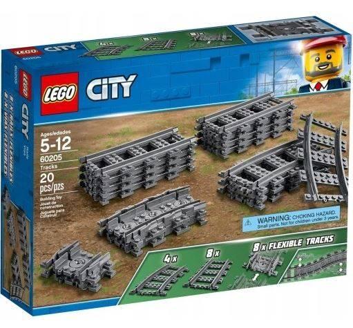 Lego City 60205 Dzelzceļš