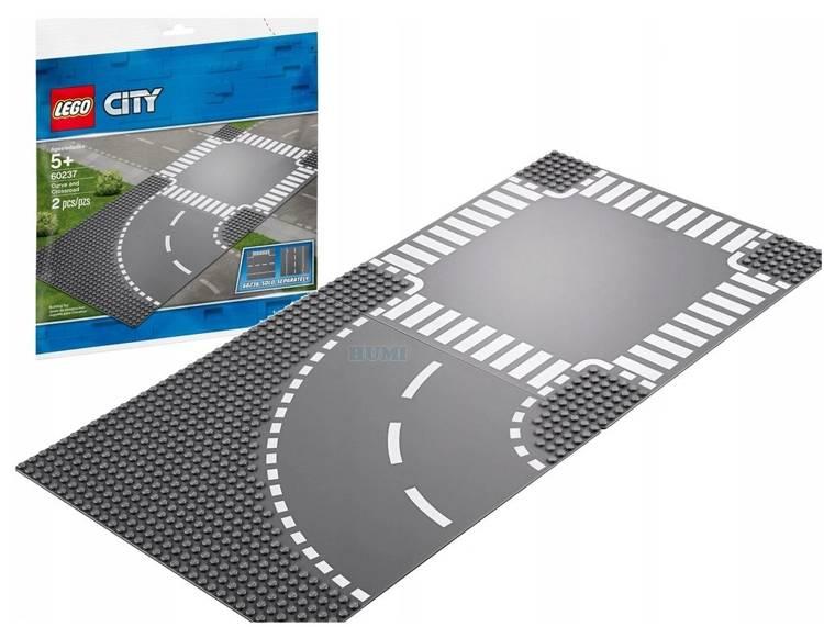 Lego City 60237 Ceļa līkums un krustojums
