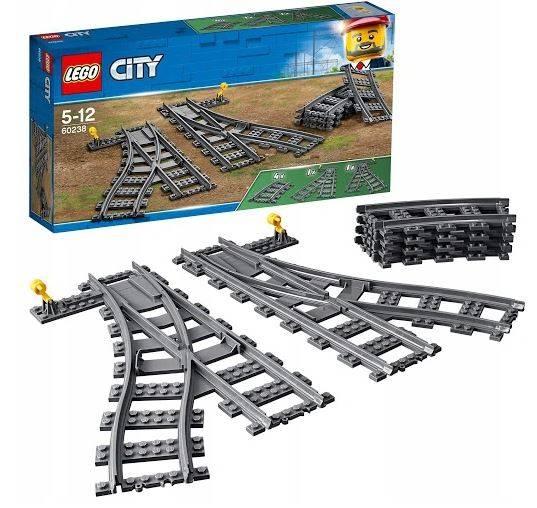 Lego City 60238 Dzelzceļa savienojumi