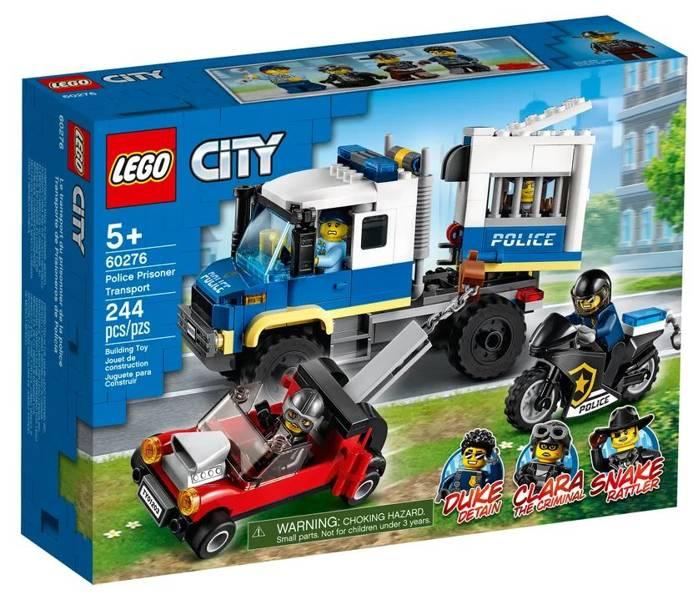 LEGO CITY 60276 Policijas Cietumnieku Furgons