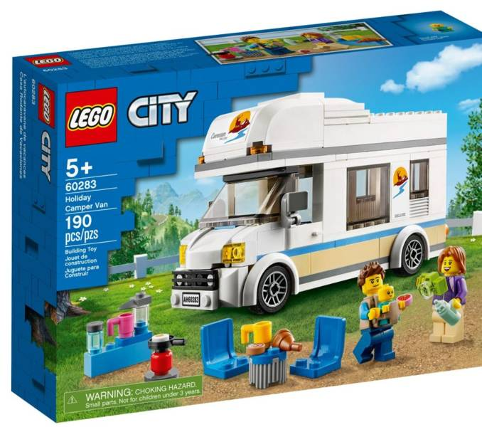 LEGO CITY 60283 Brīvdienu Furgons
