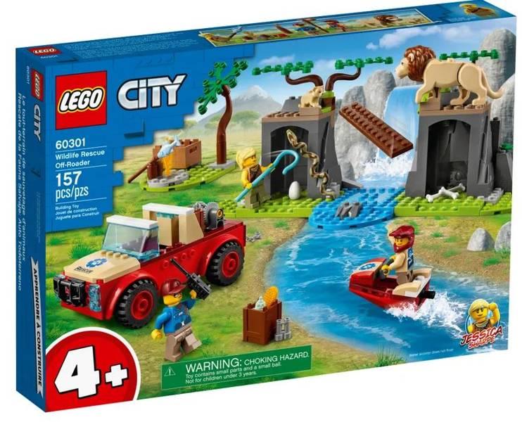 LEGO CITY 60301 Savvaļas Dzīvnieku Glābšanas Visurgājējs