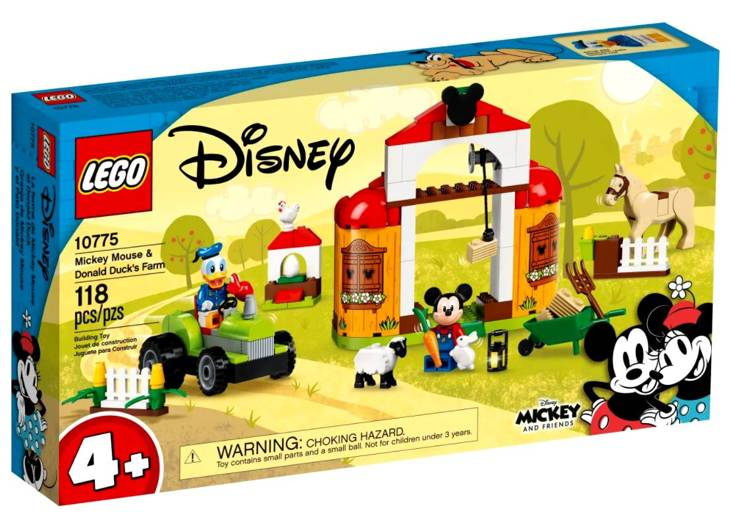 LEGO DISNEY 10775 Mikipeles un Donalda Daka Saimniecība
