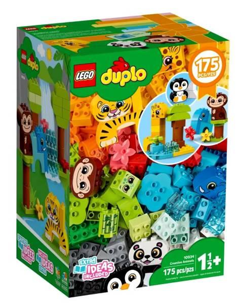 LEGO DUPLO 10934 Radošie Dzīvnieki
