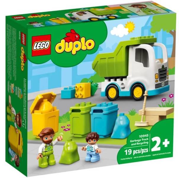 LEGO DUPLO 10945 Atkritumu Izvešanas Auto