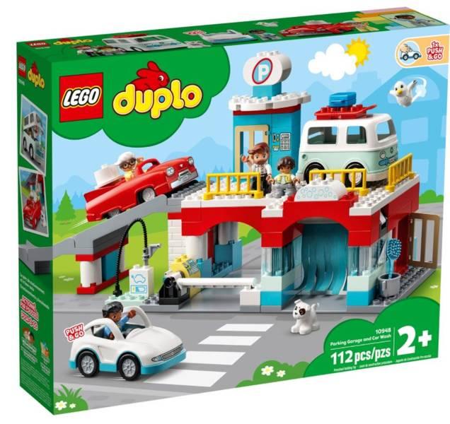 LEGO DUPLO 10948 Autostāvvieta un Automazgātava