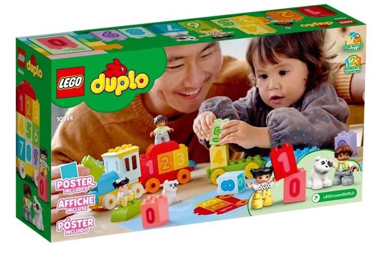 LEGO DUPLO 10954 Ciparu Vilciens - Mācies Skaitīt