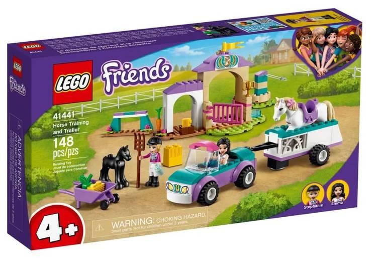 LEGO FRIENDS 41441 Zirgu Treniņš un Pārvadāšanas Auto
