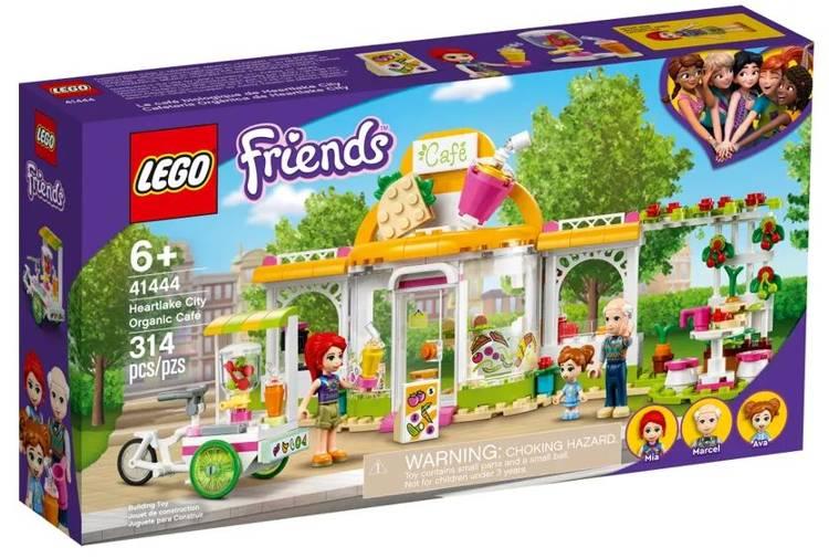 LEGO FRIENDS 41444 Hārtleikas Pilsētas Ekoloģiskā Kafejnīca