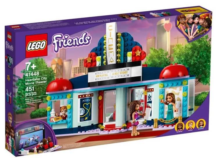 LEGO FRIENDS 41448 Hārtleikas Pilsētas Kinoteātris