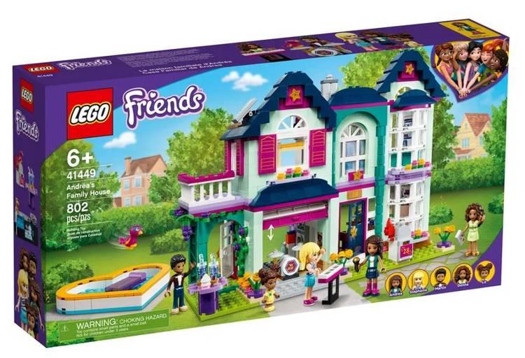 LEGO FRIENDS 41449 Andrea Ģimenes Māja