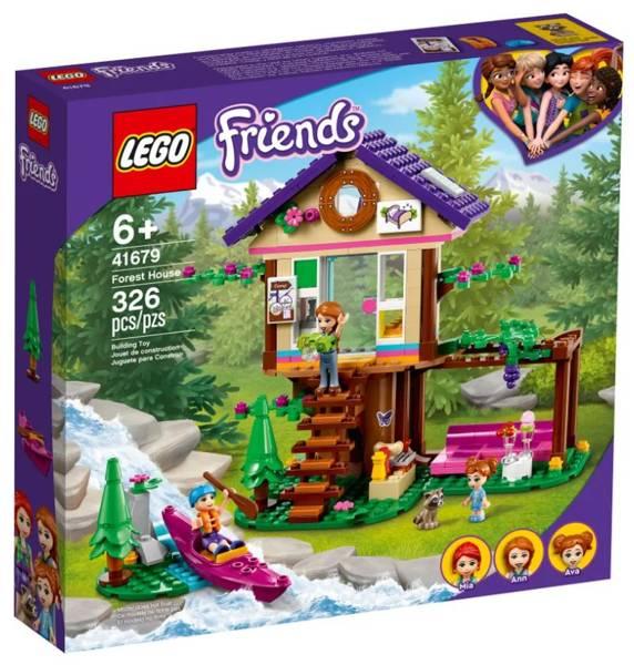 LEGO FRIENDS 41679 Meža Namiņš